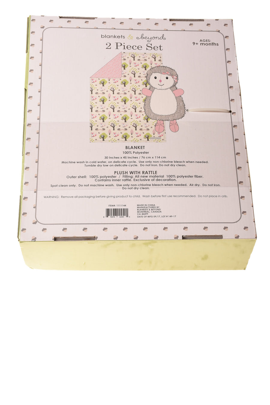 Baby Girl's Blanket By Blankets & Beyond