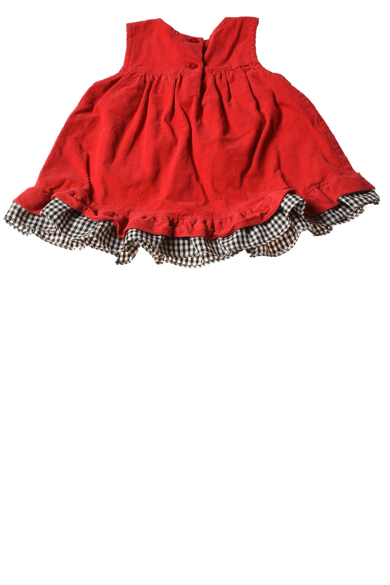 Used Rare Too Baby Girl S Dress 12 Months Red Print Village