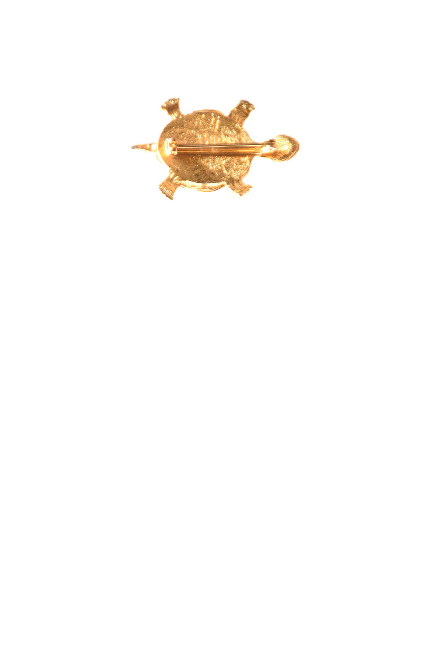USED No Brand Women's Lapel Pin N/A Goldtone