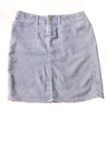 USED Express Women's Skirt 5-6 Blue