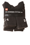 NEW Under Armour Men's Socks Large Black