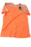 NEW Adidas Men's Shirt Small Orange & Gray