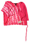 NEW International Concepts Women's Top X-Small Pink & White