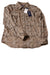 NEW Chaps Women's Top Large Brown / Animal Print