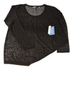 NEW Vera Wang Women's Sweater X-Large Black