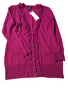 NEW U Knit Women's Sweater X-Large Violet