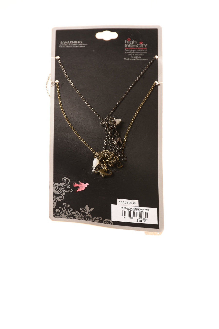 NEW Disney Peter Pan Necklaces  N/A N/A
