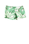 USED Old Navy Women's Shorts 12 Green / Print