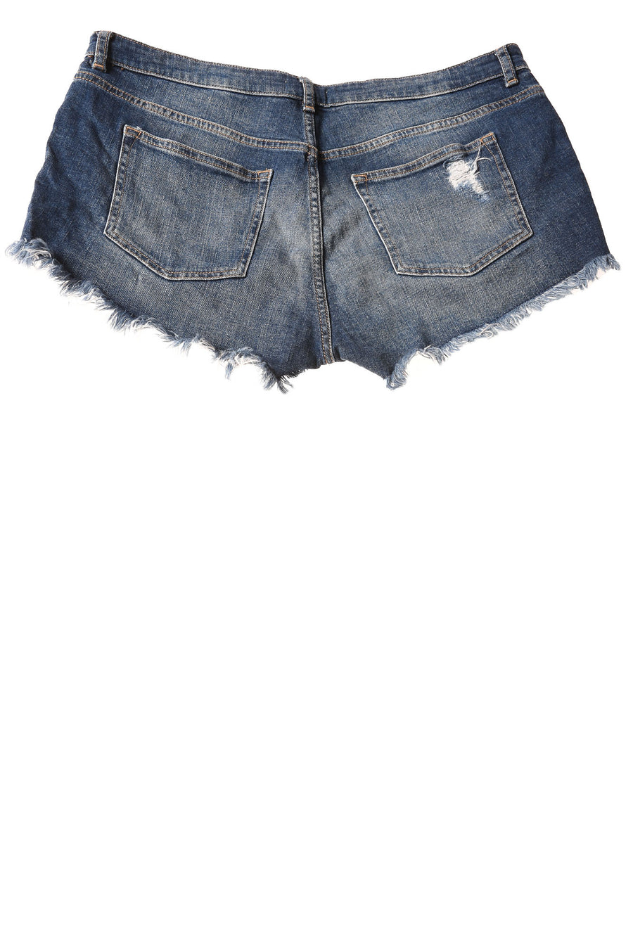 USED H&M Women's Denim Shorts 12 Blue