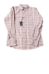 NEW Marc Anthony Men's Shirt Small Maroon / Plaid