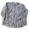 NEW Chaps Men's Shirt X-Large Blue / Print