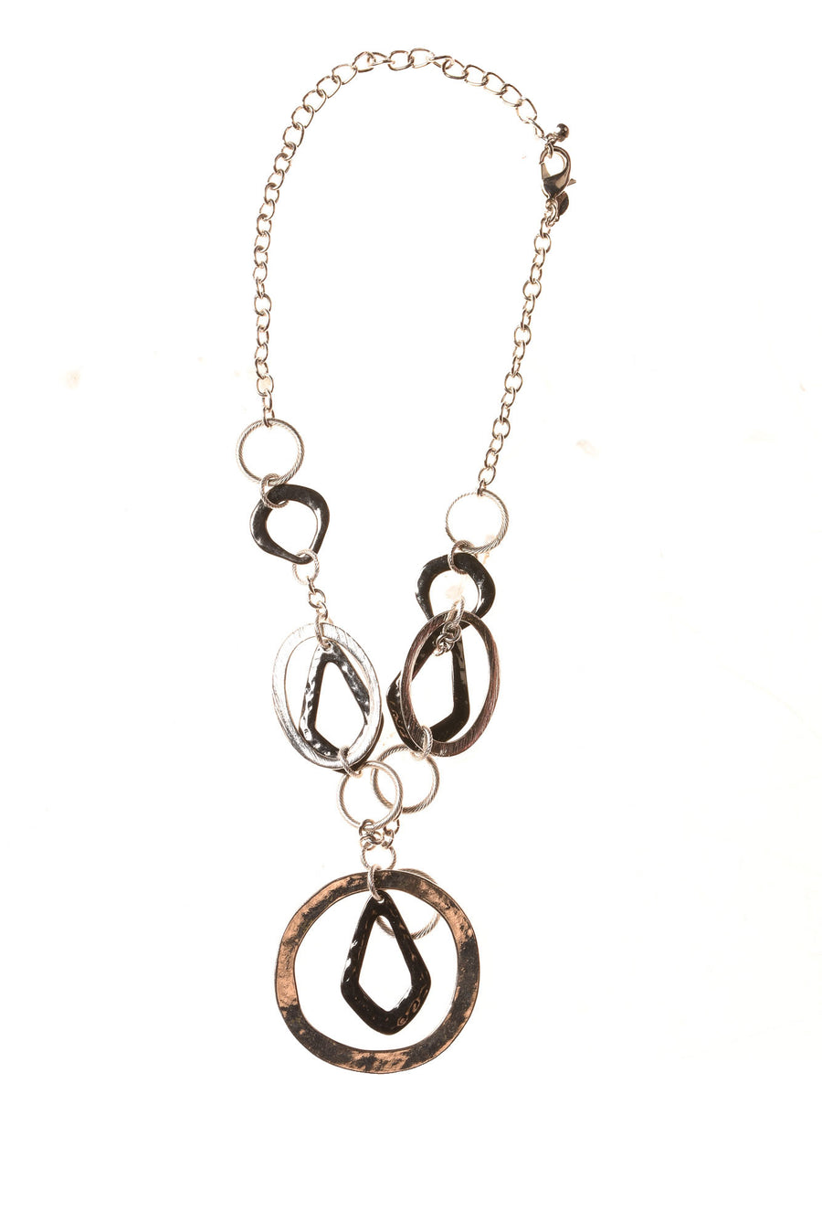 USED Chico's Women's Necklace N/A Silver & Black