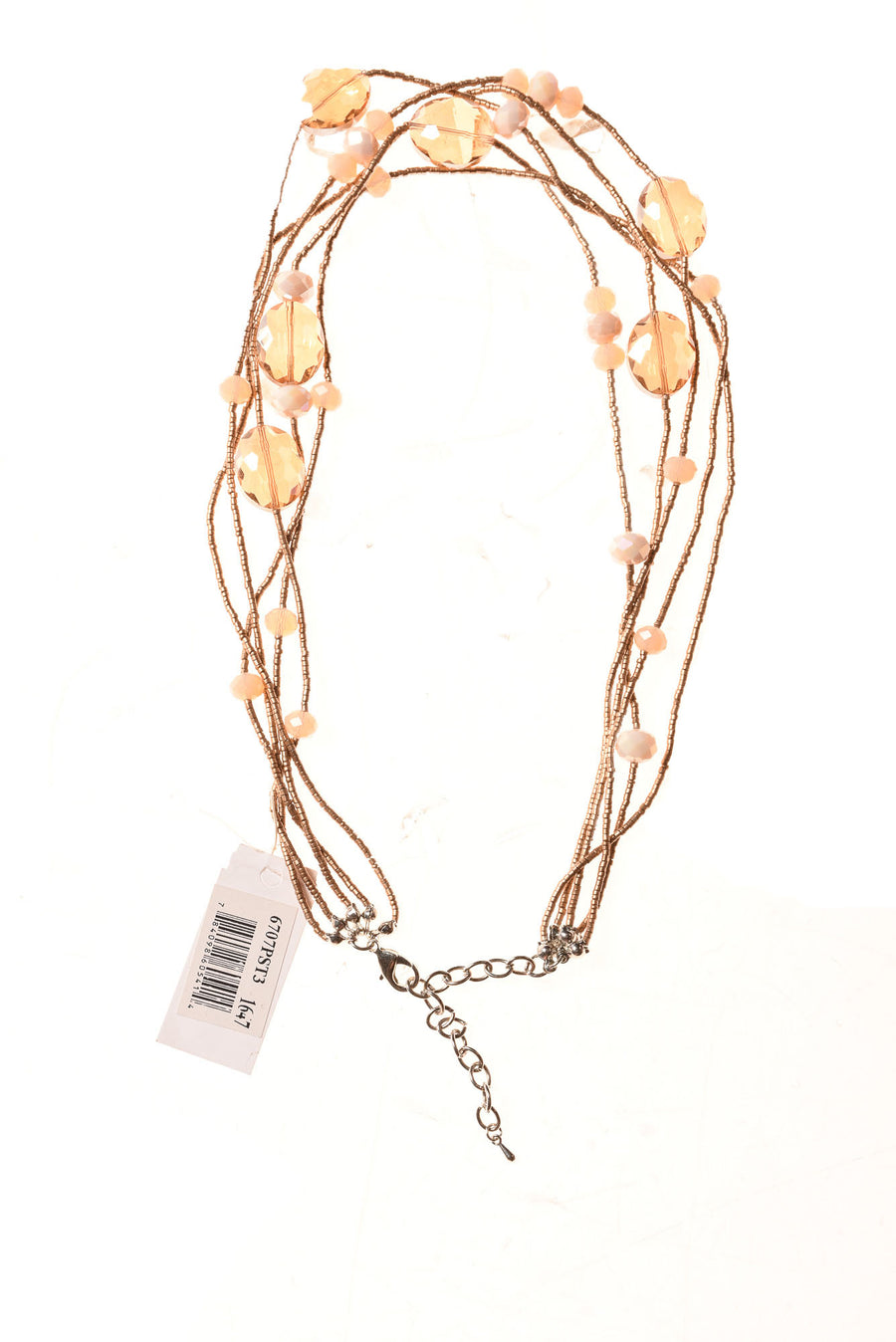 NEW Ethel & Myrtle Women's Necklace N/A Amber