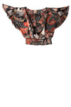 USED 2 Cielo Women's Top Small Multi-Color / Print
