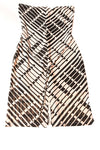 USED Charlotte Russe Women's Dress Small Ivory & Black / Print