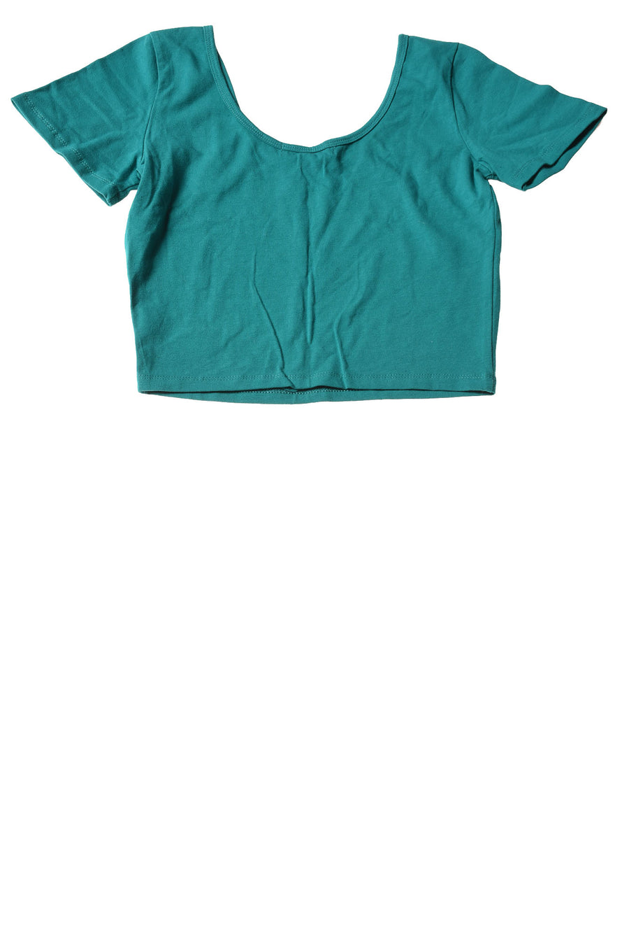 USED Forever 21 Women's Top Medium Teal