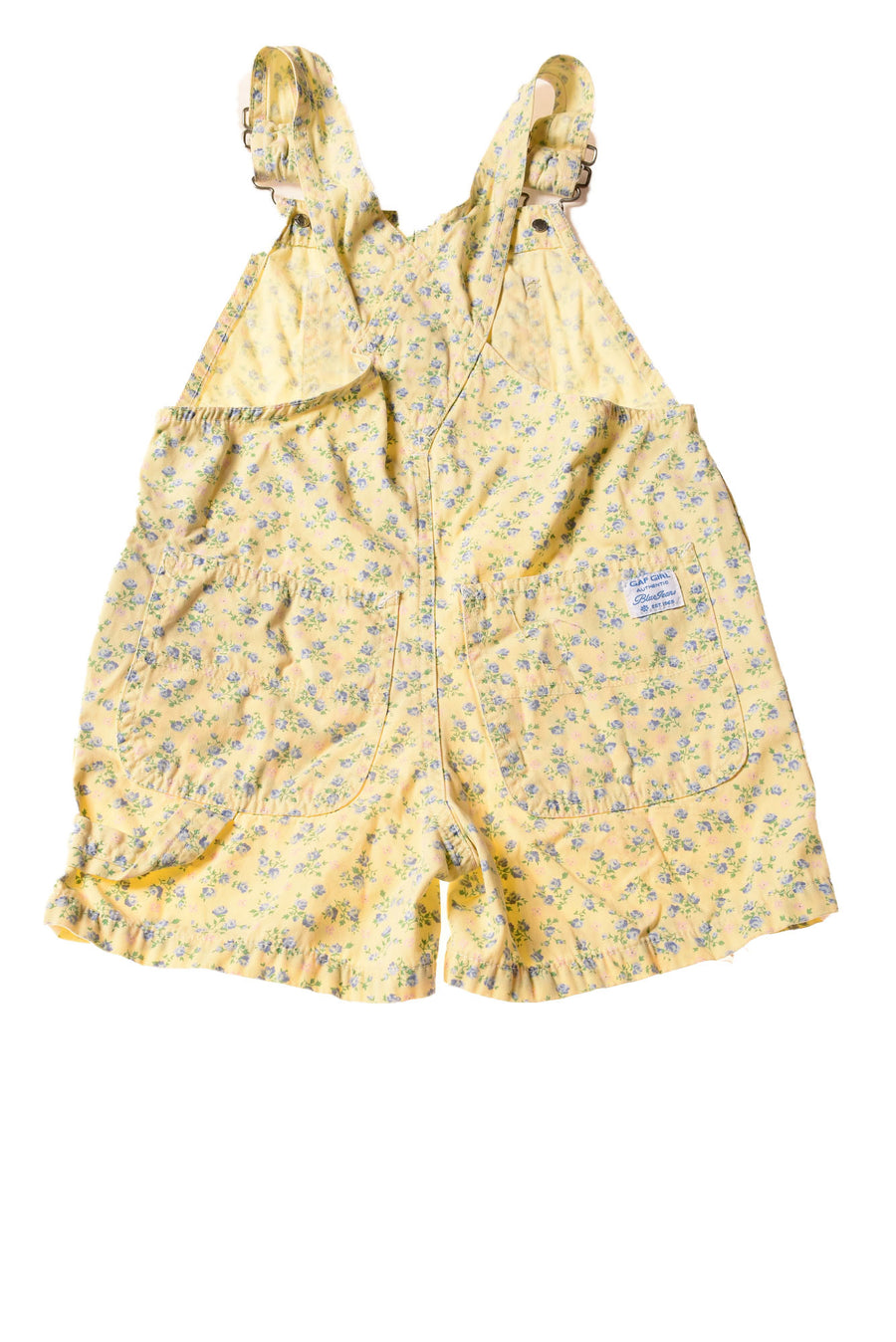 USED Gap Girl's Shorts X-Small Yellow / Floral Print