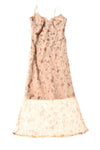 USED Tampa Women's Dress X-Small Tan / Floral