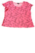 USED Notations Women's Top Large Pink & Black