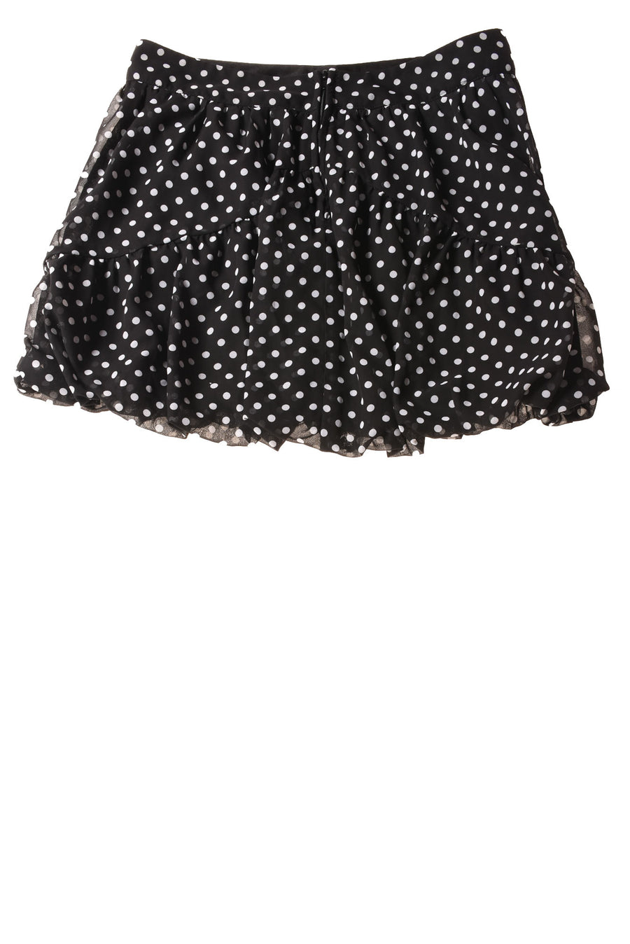 USED I.N.Girl Girl's Skirt 16 Black & White