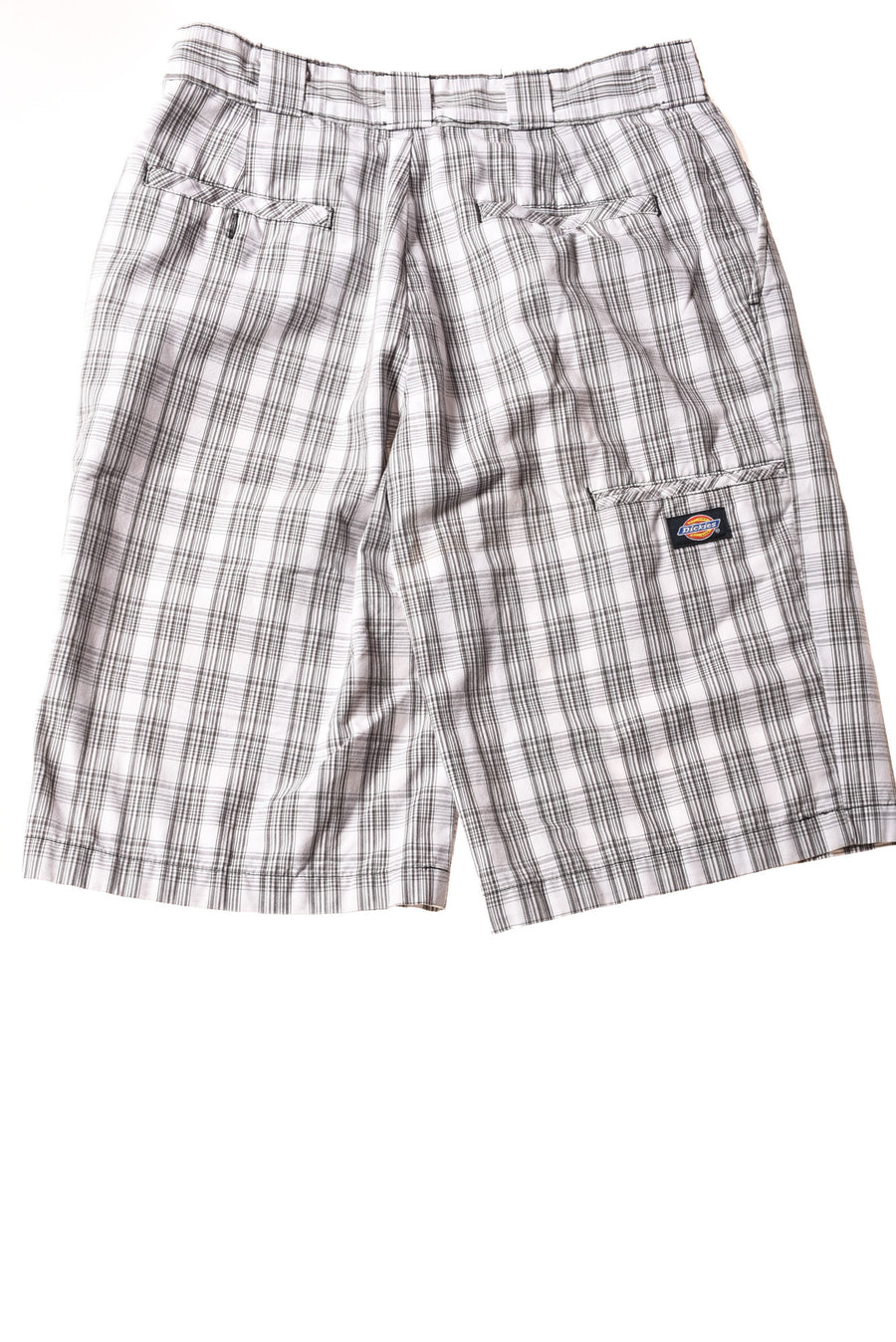 USED Dickies Men's Shorts 30 Gray & White