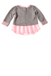 USED Little Lass Baby Girl's Top 12 Months Pink