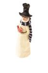 Snowman Figurine By Coach House Gifts