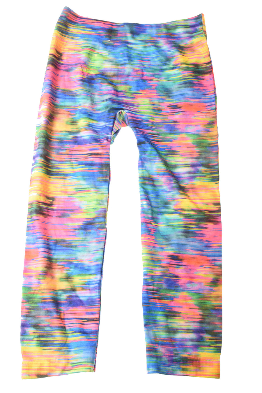USED No Boundaries Women's Leggings Medium Multi-Color