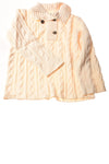 USED Eddie Bauer Women's Sweater 2X-Large Ivory