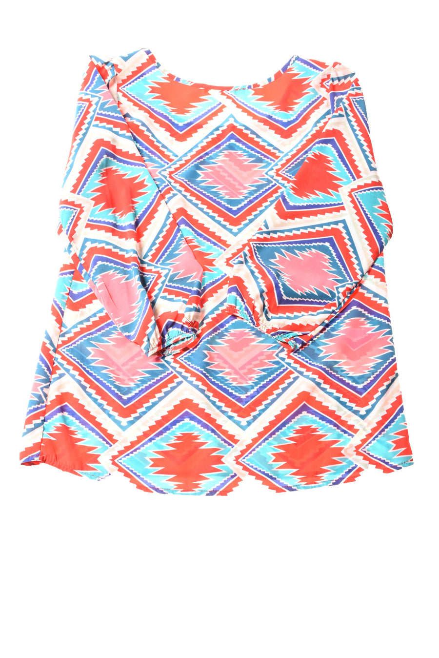 USED Miami Women's Top Small Multi-Color