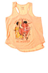 USED Disney Girl's Top XX-Large Orange