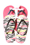 USED Jumping Beans Girl's 2pk Shoes 1/2 Multi-Color