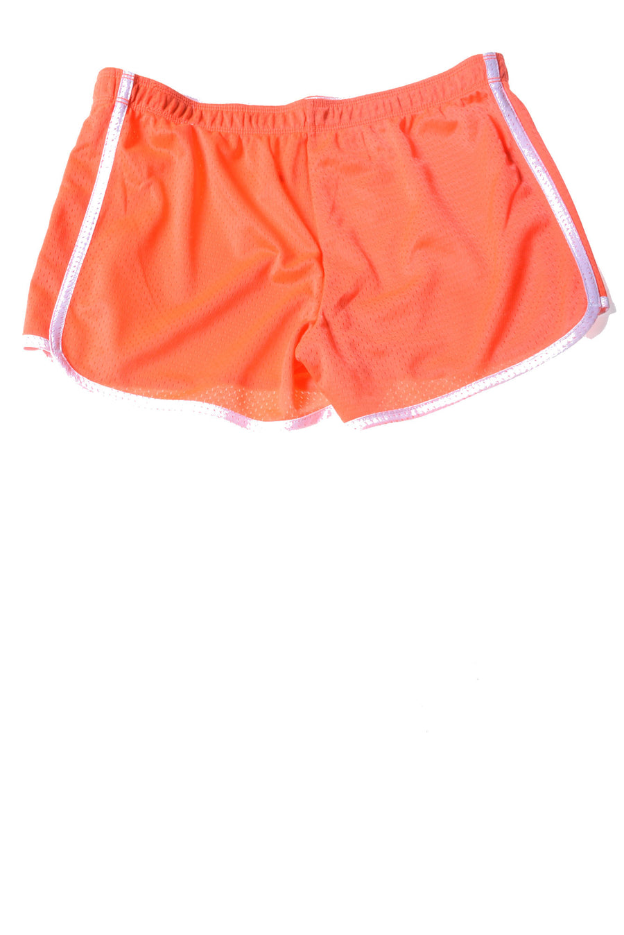 USED Justice Girl's Shorts 18 Neon Orange
