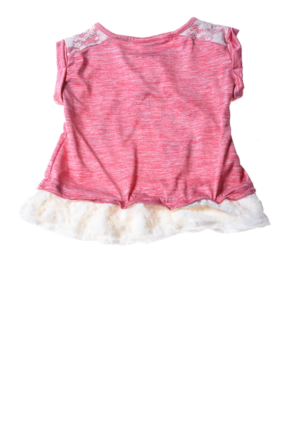 USED Nannette Baby Top 3T Pink