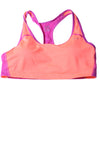 USED Champion Women's Sport Bra XX-Large Salmon & Purple