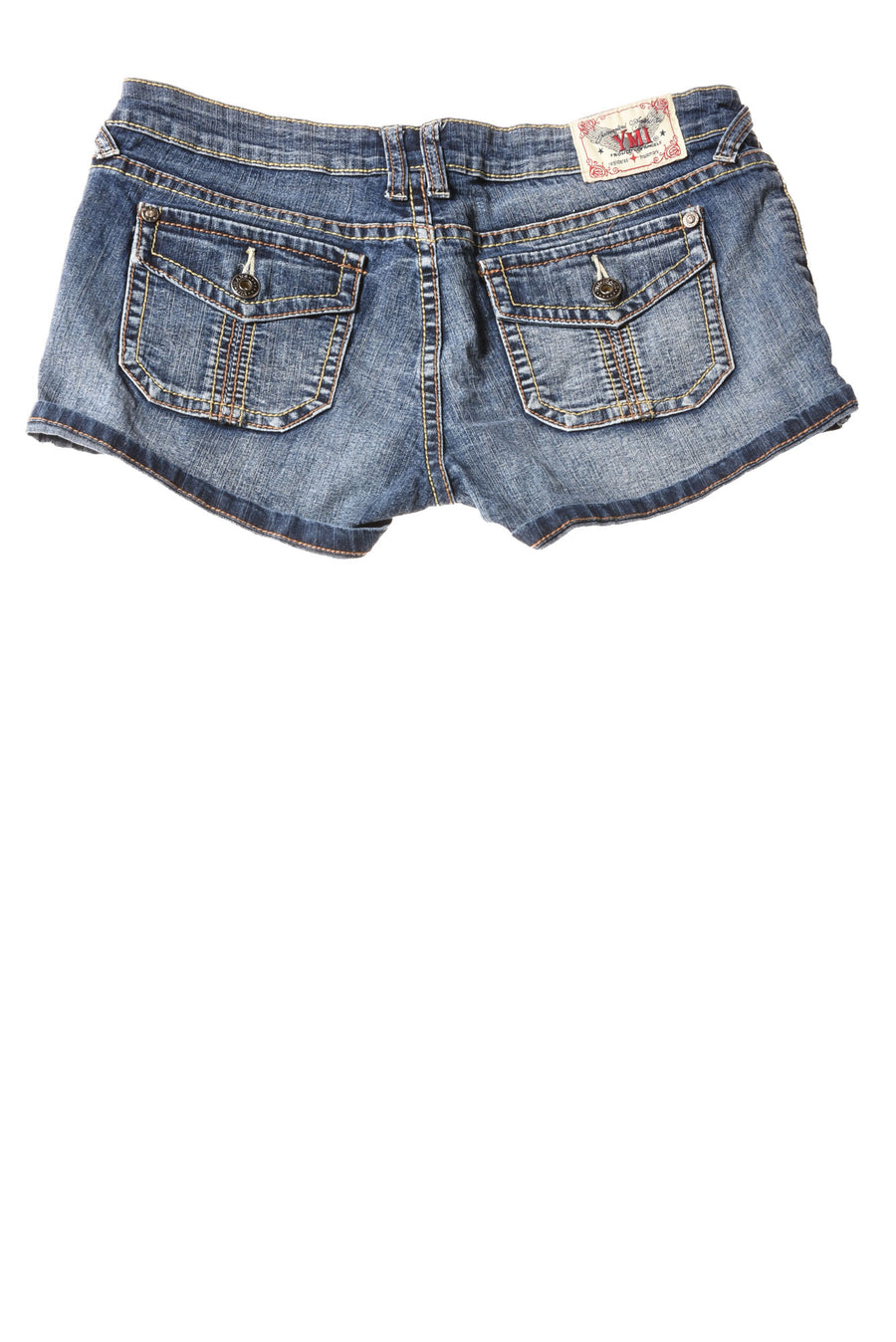 USED YMI Women's Shorts 7 Blue