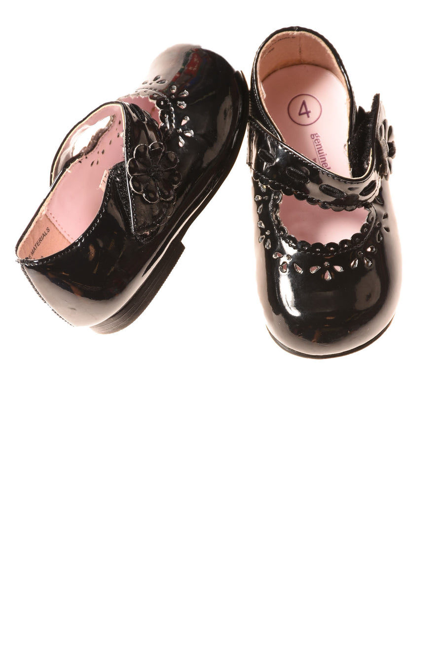 USED Oshkosh Baby Shoes 4 Black