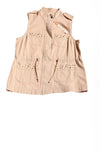 NEW True Freedom Women's Vest Medium Tan