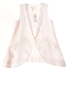 NEW BCBGeneration Women's Vest X-Small Optic White