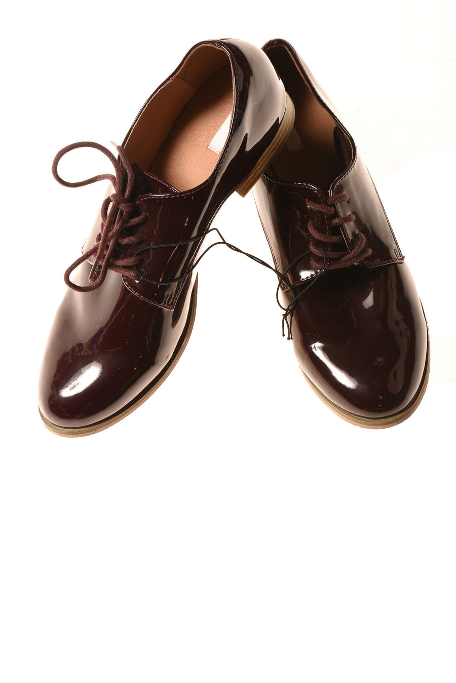USED Cooperative Women's Shoes 8 Burgundy
