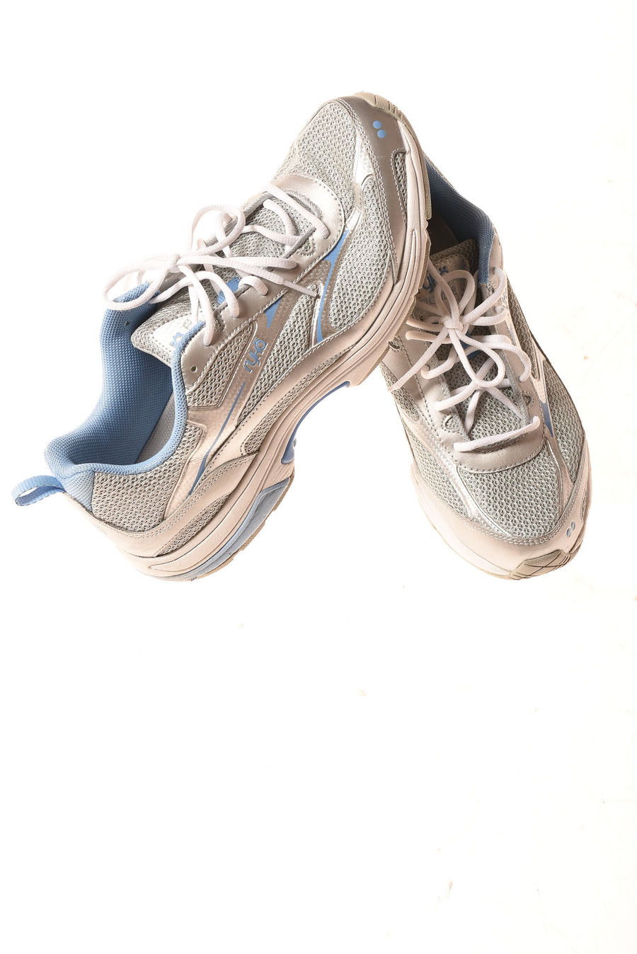 USED Ryka International Women's Shoes 11 Blue & Gray