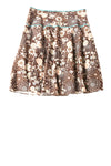 USED Lapis Women's Skirt X-Large Brown / Floral
