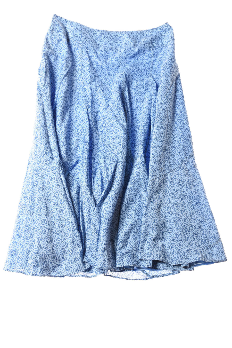 USED Charter Club Women's Petite Skirt 12 Blue / Print