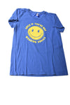 USED American Apparel Boy's Shirt X-Large Blue