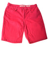 USED Jones New York Women's Shorts 10 Pink