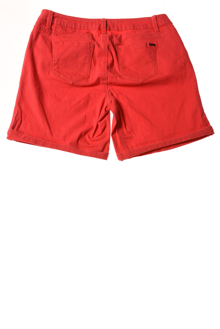 USED Max Jeans Women's Shorts 10 Red