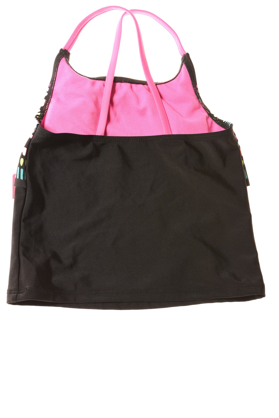 NEW Xhilaration Girl's Swimwear Medium Black / Print