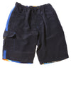 USED Sonoma Boy's Shorts X-Large Blue & Hawiian Print
