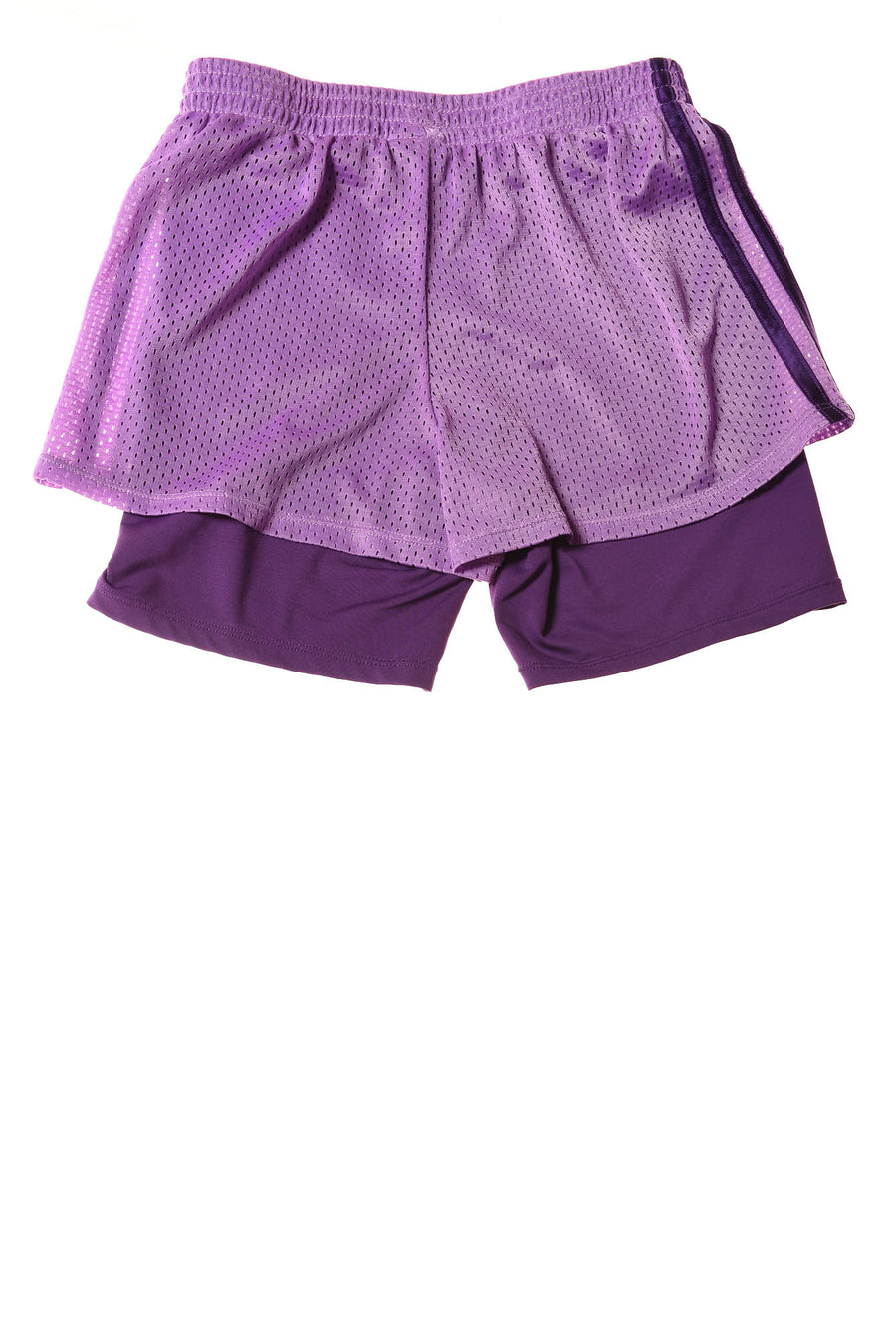 USED Champion Girl's Shorts 10-12 Purple