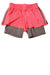 USED Champion Girl's Shorts 7-8 Pink & Gray